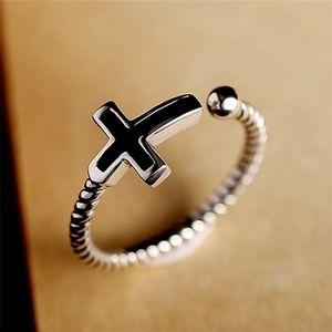 Cross Finger Ring